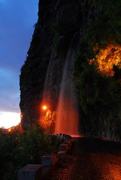 Madeira waterfall by ondrakroutil Z