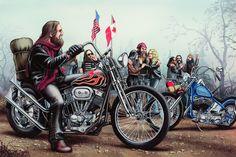 David Mann Motorcycle Art   ... Originals - All Artwork - David Mann - Motorcycle Art   Fine Art World