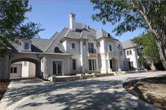 6.9 million dollar French chateau, Dallas, Texas