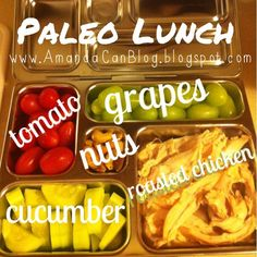 Paleo lunch packed in a planetbox.