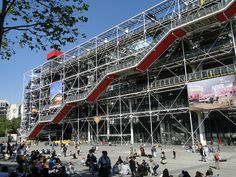 Pompidou - Museu - Paris