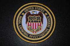 United States Naval Criminal Investigative Service Patch