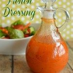 I am a little picky about my salad dressings. Making salad dressing at home is simple, less expensive, better for you and tastier than buying it. Simple French Dressing is a recipe that my mom got from a friend a long time ago. Cesar Salat, Sauce Recipes, Cooking Recipes, Cooking Tips, Marinade Sauce, Salad Dishes, Homemade Dressing, Salad Dressing Recipes, Antipasto