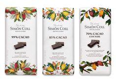 Tabletas Alto Porcentaje de Cacao