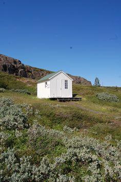 Famous painter Kjarval´s cabin, Hvammur