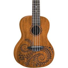$99.99 - Luna Guitars Tattoo Concert Mahogany Ukulele