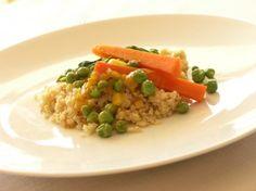 Saffron-and-White-Wine-Braised Spring Vegetables gluten free vegan
