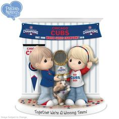 Limited-edition Precious Moments porcelain figurine honors Cubs™ World Series® win. Only 1,500 available for 2016, so HURRY!