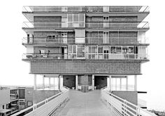 Juan Guardiola - La Isleta, El Campello, Spain, 1963 Architecture Board, Architecture Design, Interesting Buildings, Brutalist, Building Design, Skyscraper, Spain, Exterior, Alicante