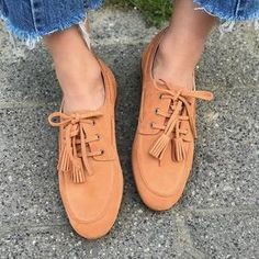 Plus Size Tassel Suede Flat Heel Slip On Loafers – cuteshoeswear loafers for women how to wear loafers loafers outfit work loafers outfit fall loafers with socks Loafers With Socks, How To Wear Loafers, Loafers Outfit, Casual Loafers, Loafers For Women, Suede Flats, Loafer Flats, Womens Flats, Oxford Shoes