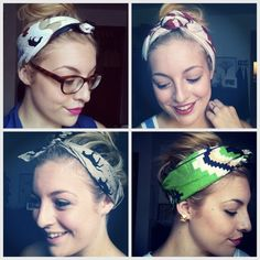 How To Wear a Head Scarf Tutorial: Guest Blogger | Birchbox