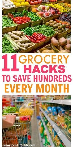 11 Easy Ways to Save Money on Groceries Without Using Coupons! This list will show you the exact steps to save money on groceries every month and without using coupons! Apply these 11 grocery hacks and start saving money now! Money Saving Meals, Save Money On Groceries, Ways To Save Money, Groceries Budget, Healthy Groceries, Money Plan, Money Tips, Money Hacks, Frugal Living Tips