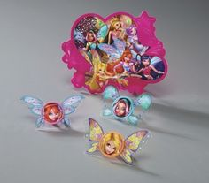 Winx Club Fairy Friends Cake Topper Decoration by BlingYourCake