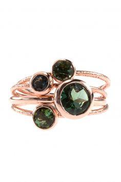 turmalin ring gruen rotgold zart strukturiert