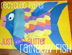 Rainbow Fish Activities and Stories ~ Click Post for more ideas.