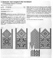 """Photo from album """"Selbustrikk on Yandex. Knitted Mittens Pattern, Knit Mittens, Knitted Gloves, Knitting Socks, Knitting Charts, Knitting Stitches, Knitting Patterns, Easy Yarn Crafts, Fair Isle Chart"""