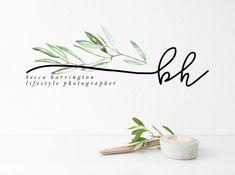 Logo Floral, Florist Logo, Tree Logos, Handmade Cosmetics, Leaf Logo, Photo Logo, Blog Design, Material Design, Logo Inspiration