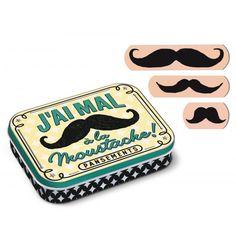 i got it, i love it pansements moustache
