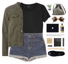 """""""""""Take me down into your paradise"""" / 21.21"""" by shaniaayr ❤ liked on Polyvore featuring Monki, Wrangler, J Brand, Converse, Torre & Tagus, Byredo, Rick Owens, Chapstick, GHD and women's clothing"""