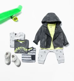 Boys Monster Outfit by Zara