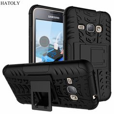 Case For Samsung Galaxy J1 2016 Cover J120F Shockproof TPU & Plastic For Samsung Galaxy J1 2016 Case Holder For Samsung J1 2016