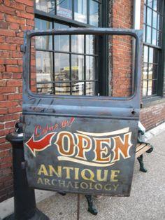 Visit Antique Archaeology someday! Nashville Antique Archeology