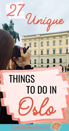 Unique things to do in Oslo, what to do in Oslo, Norway, guide to Oslo Norway, Oslo guide #Oslo #Norway #VisitOslo