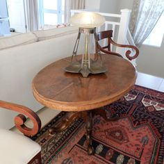 Antique walnut Loo table, a great investment piece WAS R16900 NOW R12900, includes delivery to your door!
