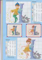 Fairy Alphabet -K Cross Stitch Alphabet Patterns, Embroidery Alphabet, Cross Stitch Letters, Cross Stitch Books, Cross Stitch Charts, Embroidery Patterns, Stitch Patterns, Alphabet Images, Alphabet And Numbers