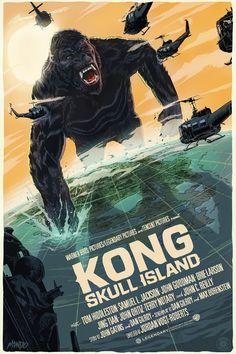 Kong: Skull Island by Francesco Francavilla   mondotees.com