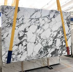 Arabescato marble is available in blocks, slabs, tiles, bookmatch and more. This white marble from Italy is a beautiful natural stone. Statuario Marble, Arabescato Marble, Calacatta Marble, Marble Stones, Marble Slabs, Marble Wallpaper Phone, Marble Suppliers, Dark Granite, Modern Ranch