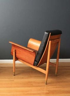 Anonymous; Bentwood Lounge Chair, c1969.