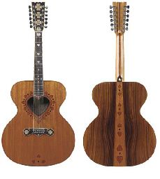 1969, 12-STRING <b>GUITAR</b> CO-DESIGNED WITH ERIC CLAPTON