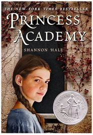 """""""The Princess Academy"""" by: Shannon Hale -- An excellent book for tween and teen girls about loving yourself, finding your place in the world, and following your heart. I really enjoyed this one!"""