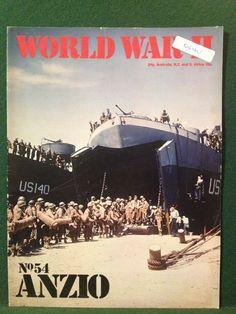 World War II Magazine Orbis Publishing 1973 Vol 4. No.54 Anzio