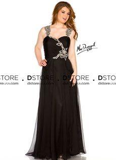 Vestido de Festa Longo Plus Size em Chifon Sigourney 64400