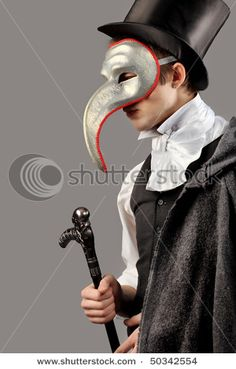 Masquerade Costume - Cravats, capes, and top hats? Maybe I'll dress in menswear!