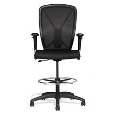 Allseating Fluid Basic Stool Chair. The Fluid Basic Stool is ideal for varied work surface heights.