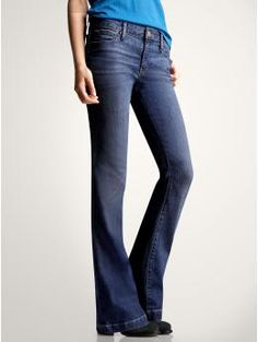 I could honestly LIVE in these jeans.  They are the most comfortable thing i've ever worn and I can't live without them!