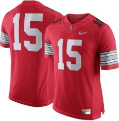 9948a954f36 Nike Men's Ohio State Buckeyes #15 Scarlet Diamond Quest Football Limited  Plus Jersey | DICK'S