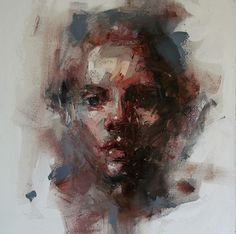 Beautifully Abstract Portraits By Ryan Hewett Abstract Portrait, Portrait Art, Figure Painting, Painting & Drawing, Painting Inspiration, Art Inspo, Figurative Kunst, Art And Illustration, Face Art