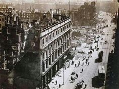 """The Imperial Hotel, Clery's, and Sackville Street: The Digital Repository launched 40 """"Photographs of Dublin City Centre after the 1916 Rebellion"""" taken by Limerick antiquarian and engineer Thomas Joh Ireland 1916, Dublin Ireland, Dublin Street, Dublin City, Images Of Ireland, Ireland Pictures, Easter Rising, Irish News, Imperial Hotel"""