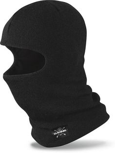DAKINE KNIT CLAVA BALACLAVA FACE MASK BLACK Not to be worn in Banks or or  near d859a49913bf