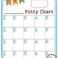 Free printable potty charts,