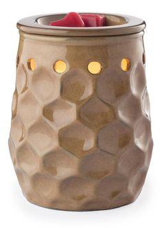 Honeycomb Latte Illumination Electric Tart Warmer