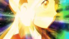 Pokemon XY Movie Mega Absol Mega Evolution in Process