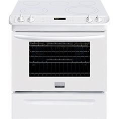 Buy the Frigidaire Stainless Steel Direct. Shop for the Frigidaire Stainless Steel 30 Inch Slide-In Range with Cubic Foot Oven and save. Slide In Range, Frigidaire, 5 Elements, Cubic Foot, Thing 1, Fan, Cool Kitchens, Kitchen Appliances, Gallery