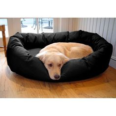 Have to have it. Majestic Pet Bagel Bed - $38.99 @hayneedle