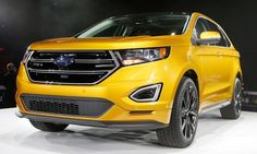 Ford's revamped 2015 Edge to roll out worldwide
