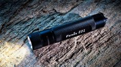 If you have a loved one who never takes a flashlight when they head out....even at night, here's a pretty cool, light and small unit to consider gifting. It has all  the right features and won't break the bank. #selfdefense #flashlight #Fenix #FearAndLoading